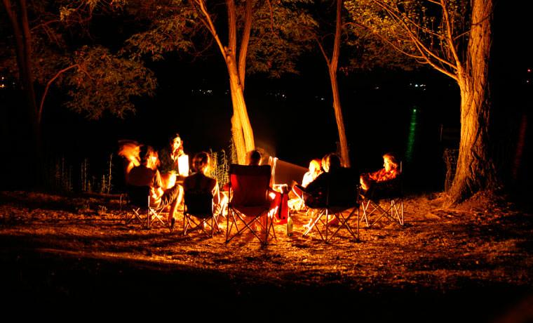 Dã ngoại nhóm lửa trại